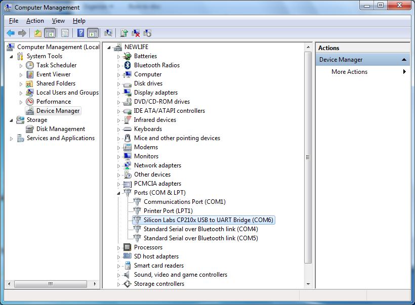 OX16C95X COMMUNICATIONS PORT COM1 DRIVERS FOR WINDOWS XP