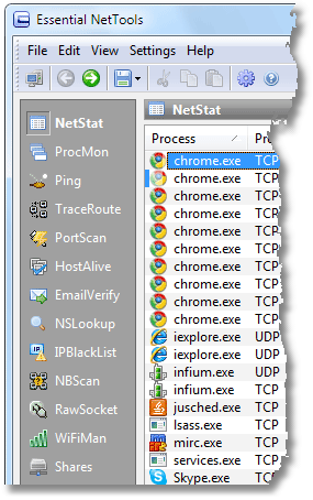 Essential NetTools Screenshot
