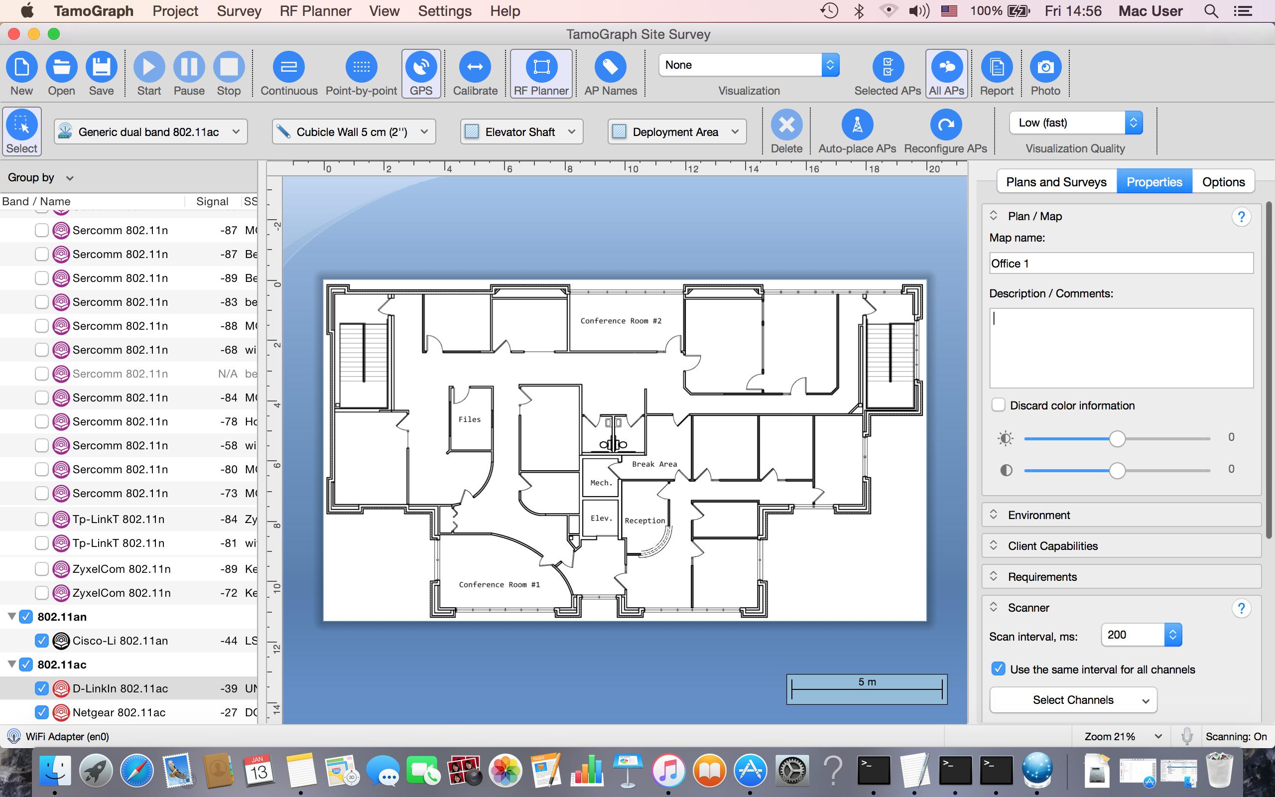 TamoGraph on macOS